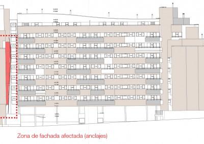 Rehabilitacion facahda GTI Arquitectos