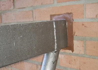 detalle anclaje fachada