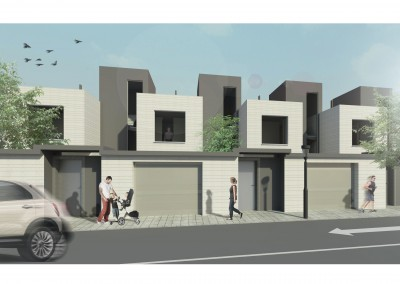 11 viviendas unifamiliares adosadas