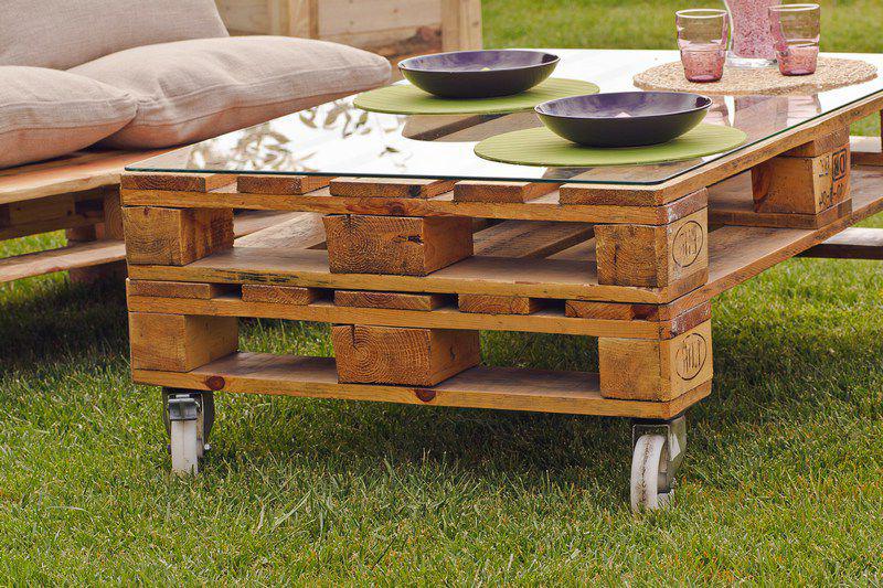 Muebles con palets de madera gti arquitectos for Muebles de jardin de palet