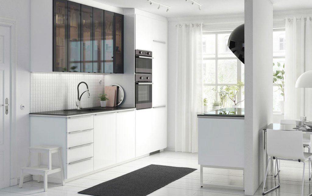 Como aprovechar el espacio en una cocina peque a gti - Como amueblar una cocina pequena ...