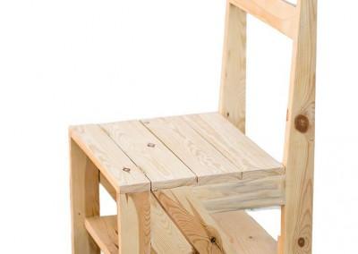 silla-escalera-palets-de-madera