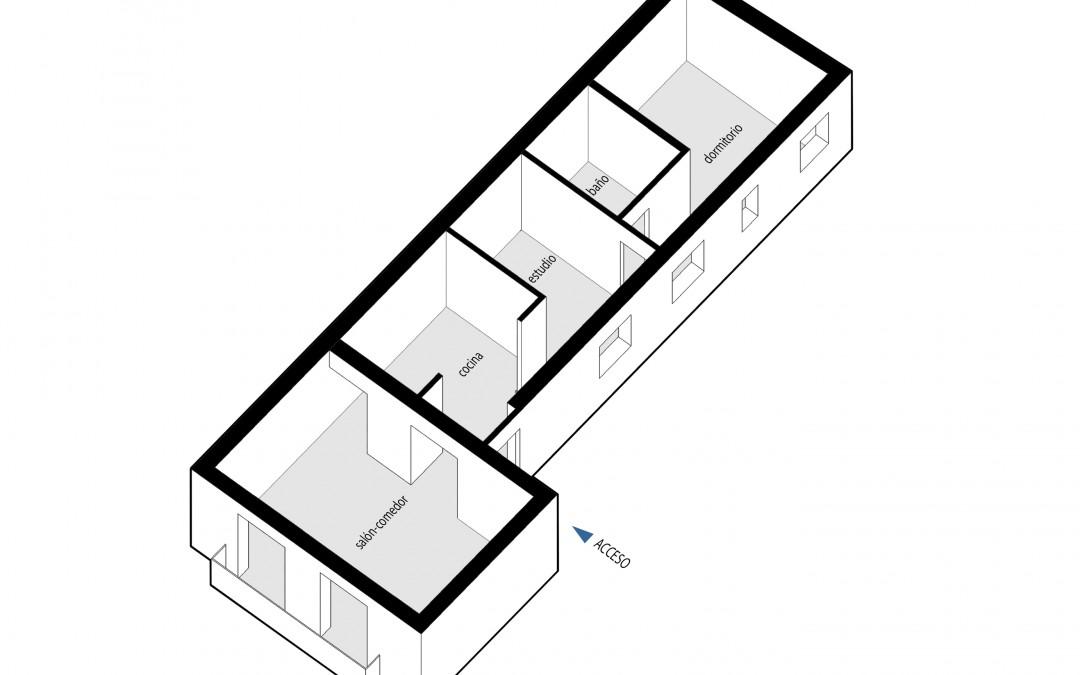 Apartamento 50 m²