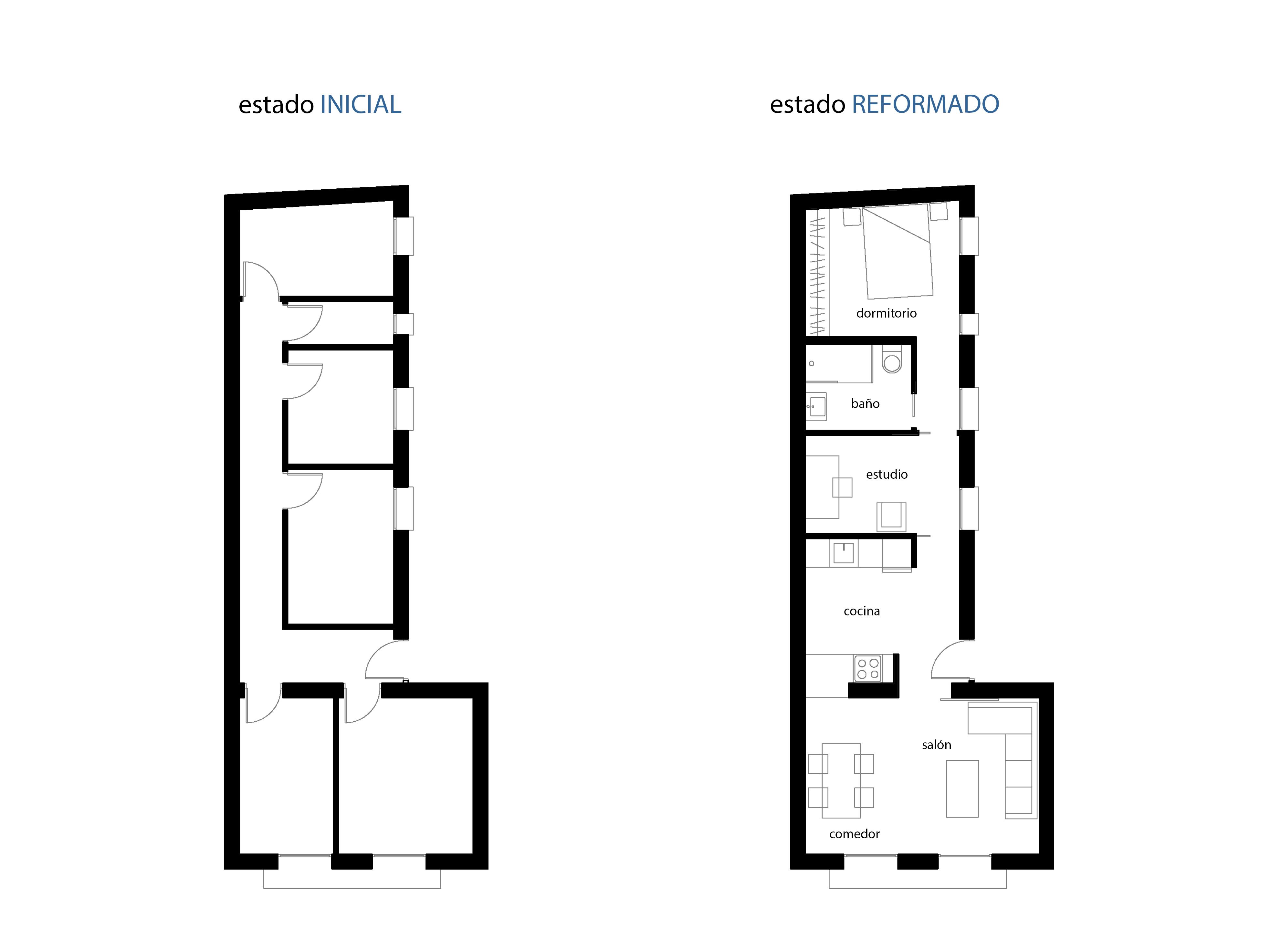 reforma apartamento 50m2 2