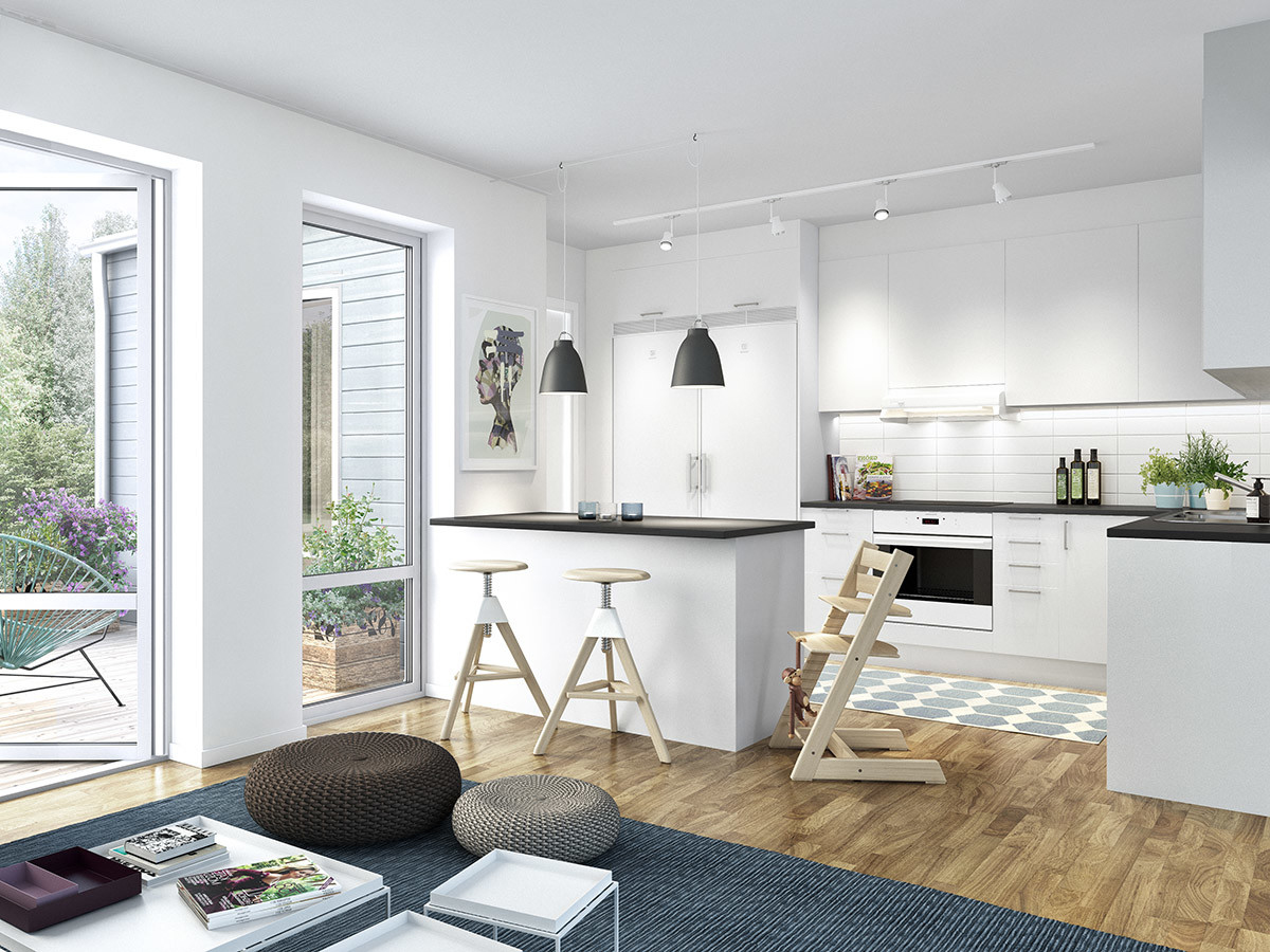 reforma integral piso 90 metros cuadrados