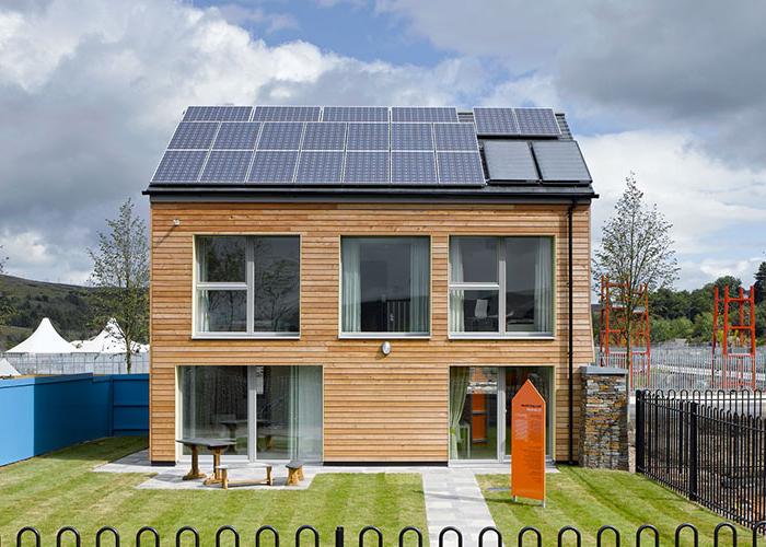 casa solar energia solar fotovoltaica