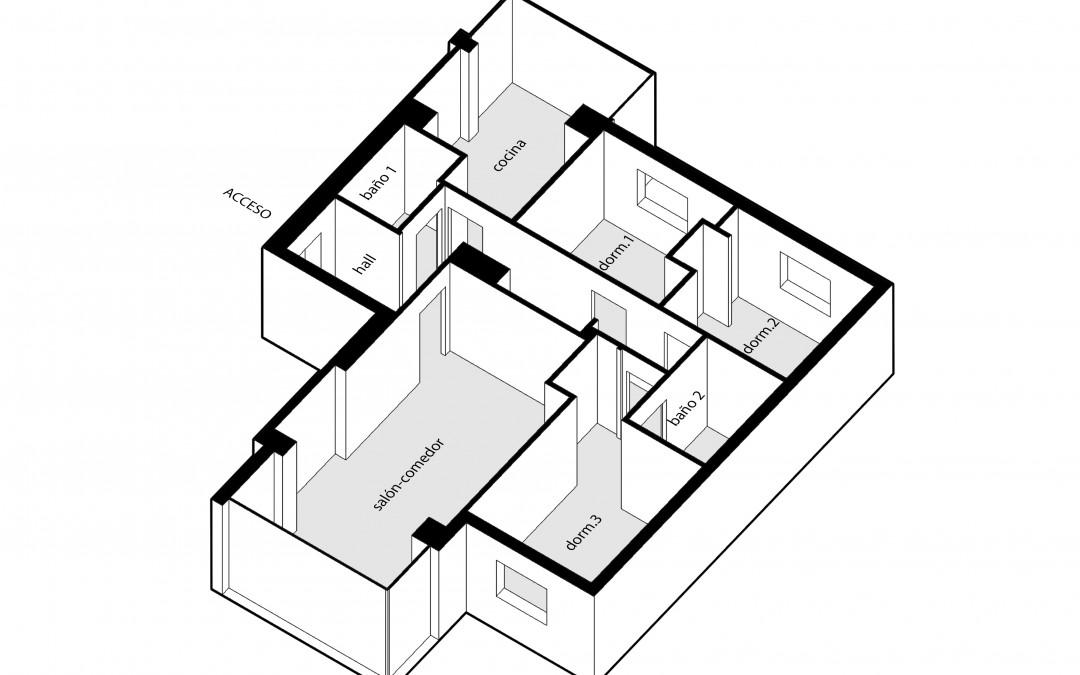Reforma vivienda 90 m²