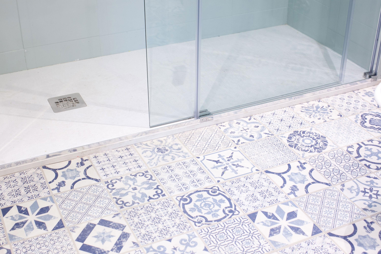 suelo vinilico ducha