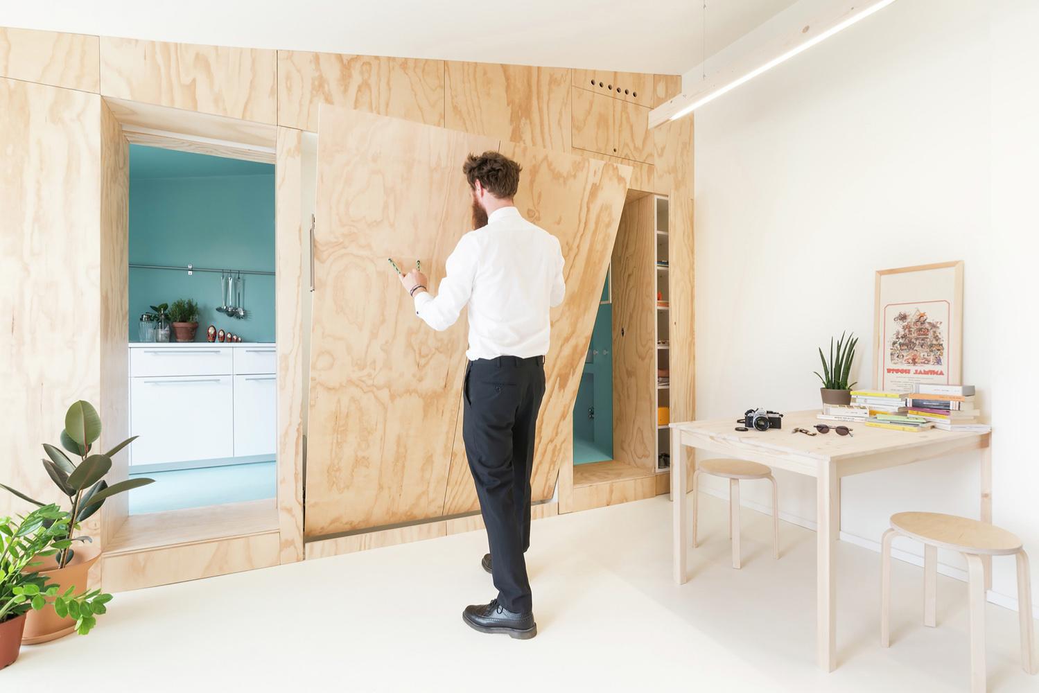 mueble funcional piso pequeño