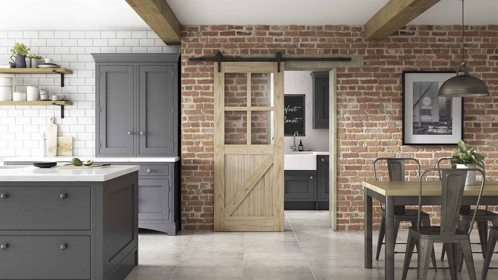 puerta corredera madera