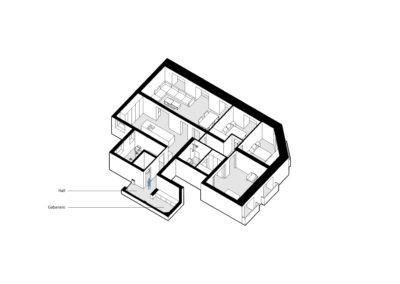 reforma-integral-vivienda-4_CASA JJ54 Hall