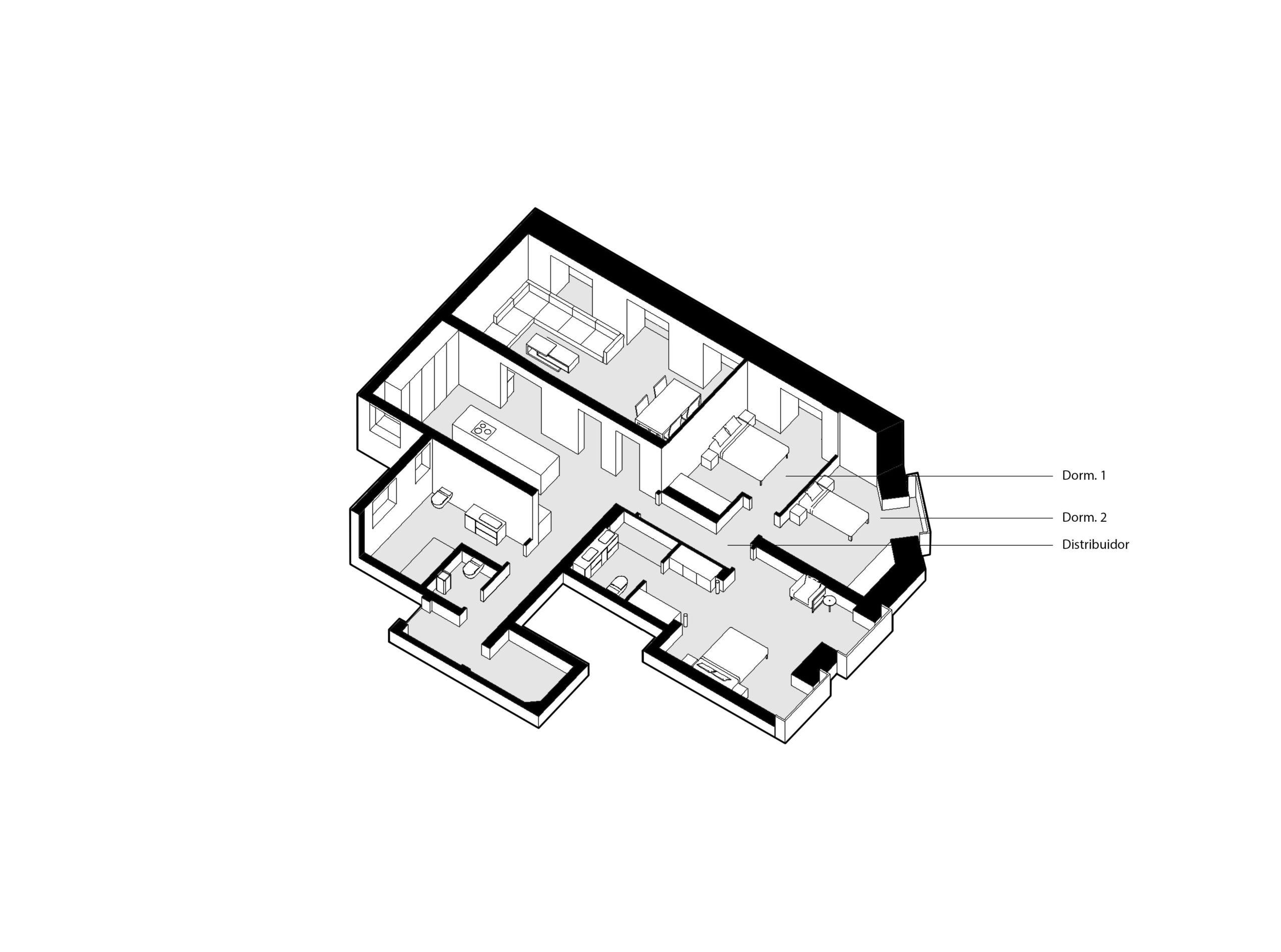 reforma-integral-vivienda-7_CASA JJ54 Dormitorios